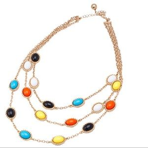 Jewelry - Multi Color Station Necklace